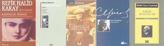Danilo Vesovşikov kahramanının geçtiği kitaplar